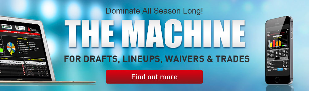 THE MACHINE for Drafts, Lineups, Waivers & Trades
