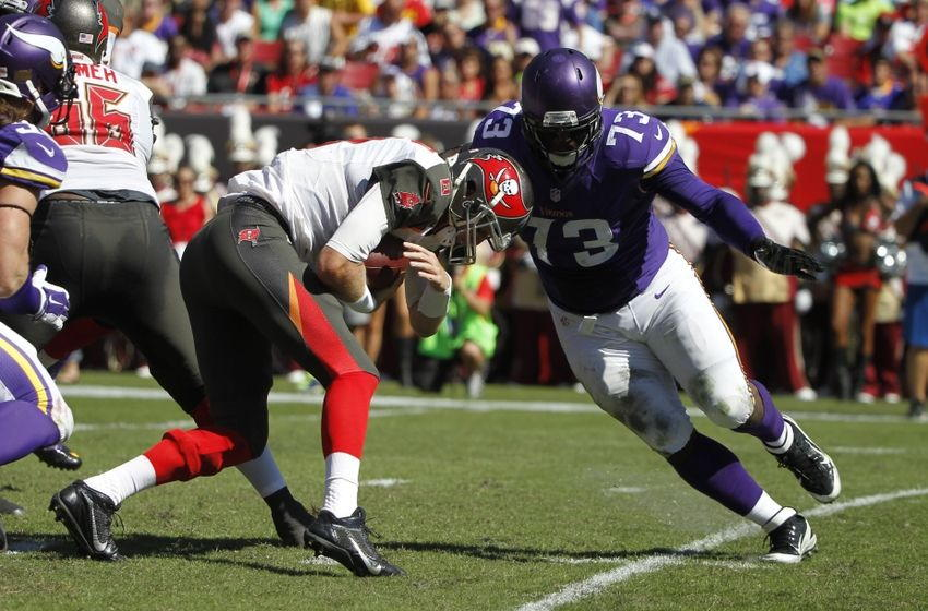 Vikings DL Sharrif Floyd may be emerging as a new force in Minnesota