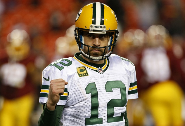 Aaron Rodgers Number 1